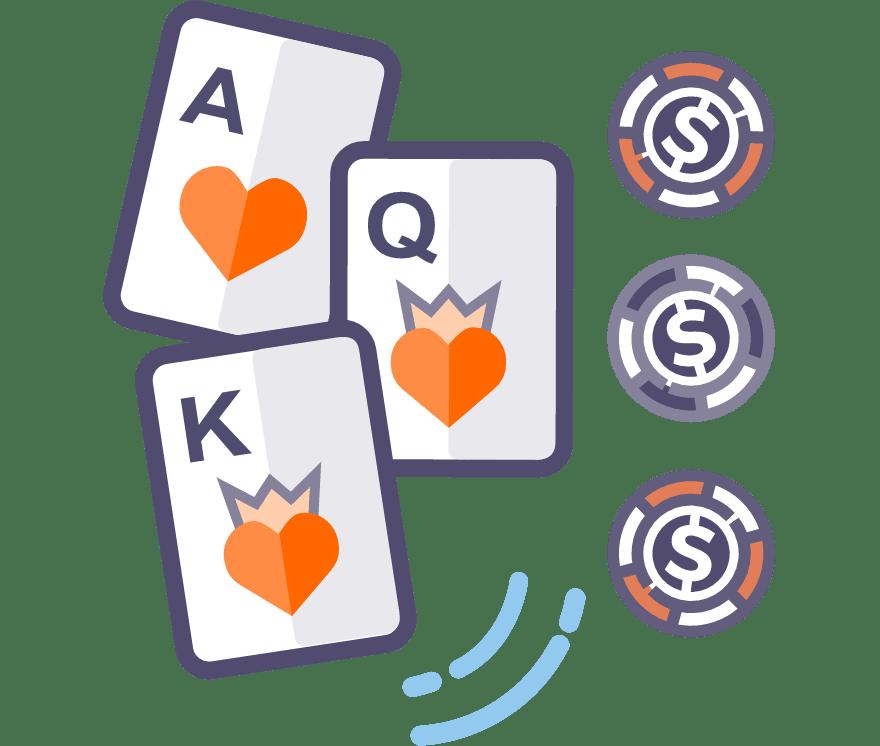 56 principais Online Poker de três cartas sites de cassino no Portugal
