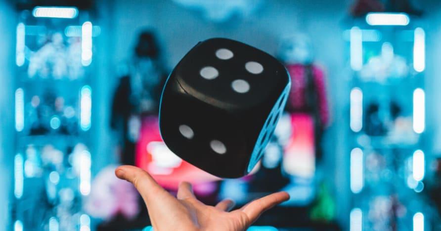 Elementos de risco e vantagem da casa em jogos de cassino online